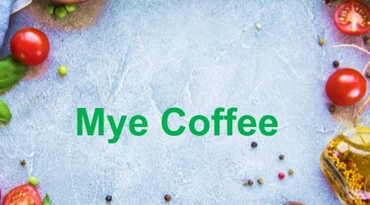 Menu & Review Mye Coffee - Utan Kayu Selatan