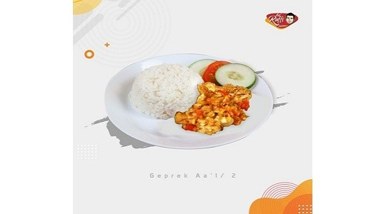 Menu & Review Aa Raffi Fried Chicken - Pomad Bogor - Bogor 2