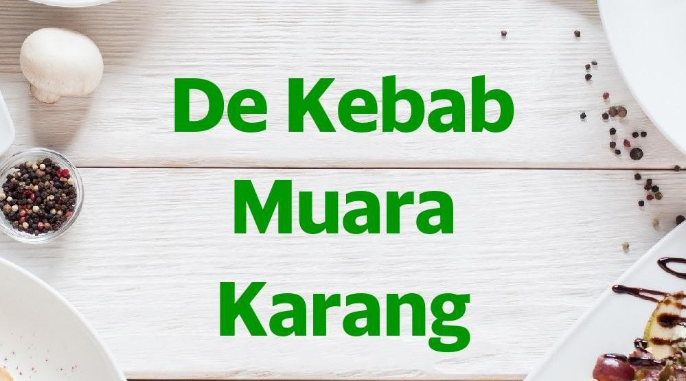 Menu & Review De Kebab Muara Karang - Pluit