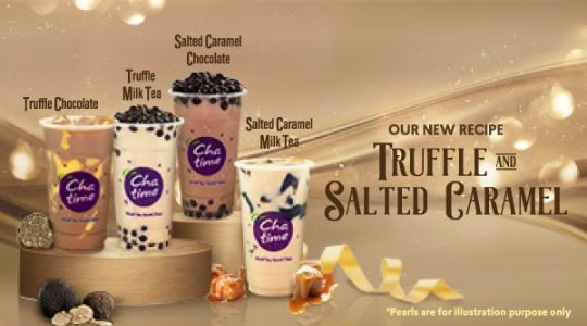 Menu & Review Chatime - Atealier Grand Indonesia