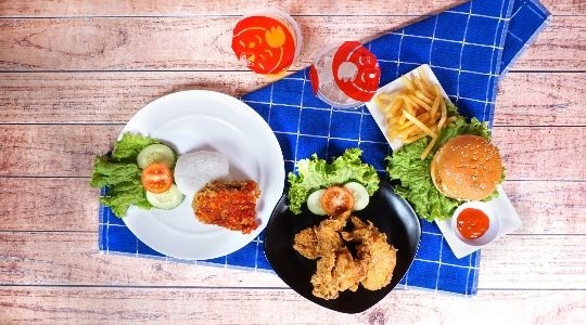 Menu & Review Quick Chicken - Cinangka 2 - Depok I