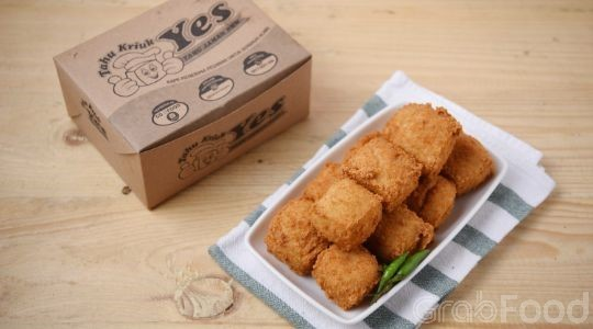 Menu & Review Tahu Kriuk Yes Roxy - Gambir - JKT.C-GAMBIR