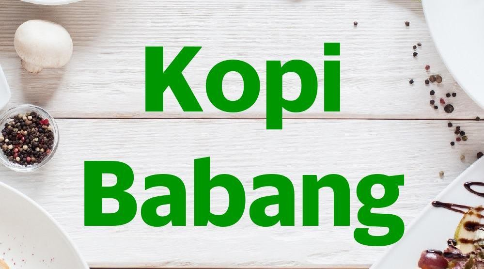 Menu & Review Kopi Babang - Pegangsaan Dua
