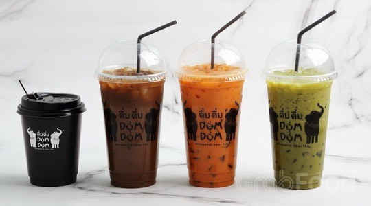 Menu & Review Dum Dum Thai Tea - Food Market Sunter