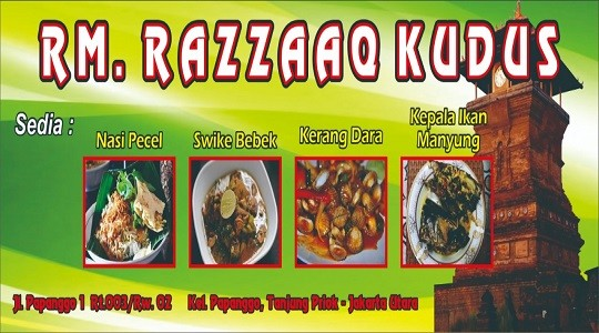 Menu & Review Rm Razzaaq Kudus - Papanggo