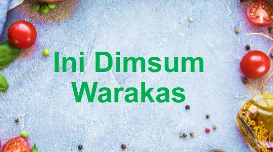 Menu & Review Ini Dimsum Warakas - Tanjung Priok