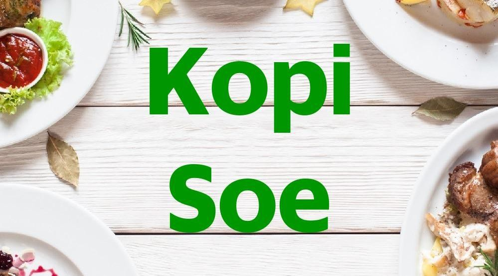 Menu & Review Kopi Soe - Cipete