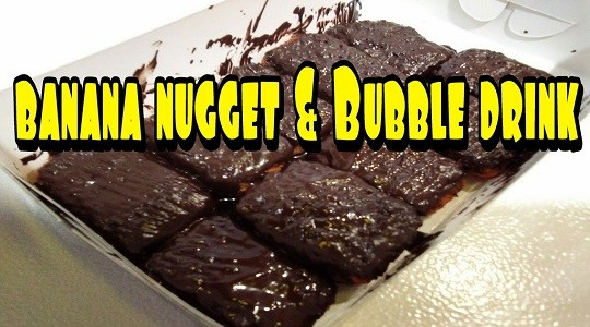 Menu & Review Banana Nugget & Bubble Drink - Kalibaru - Bogor 3
