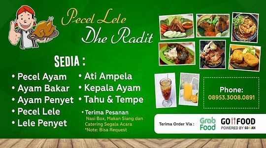 Menu & Review Pecel Ayam Lele Dhe Radit - Sunter