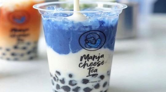 Menu & Review Manja Cheese Tea - Cimpaeun - Depok 2