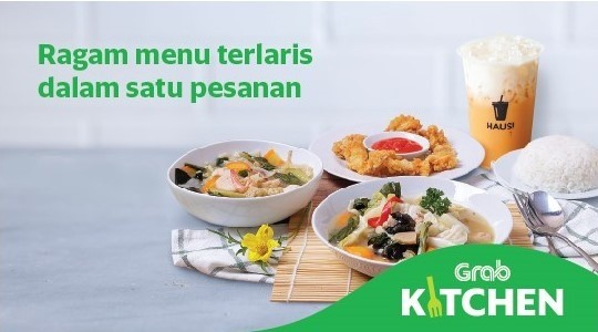 Menu & Review GrabKitchen All in One - Sawah Besar