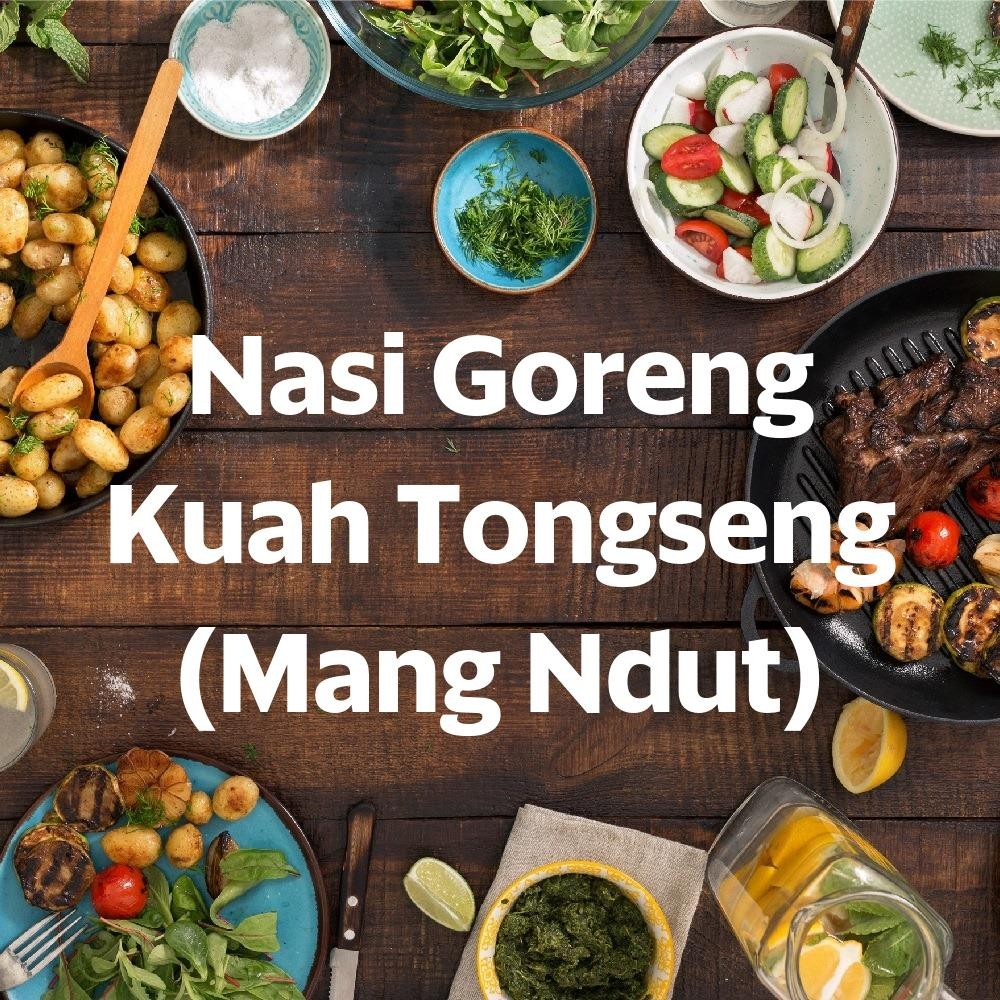 Menu & Review Nasi Goreng Kuah Tongseng (Mang Ndut) - Sunter Agung