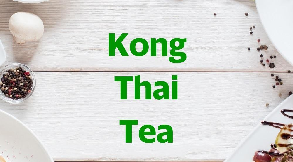 Menu & Review Kong Thai Tea - Palmerah