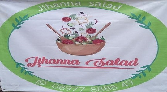 Menu & Review Jihanna Salad - Pisangan - Ciputat