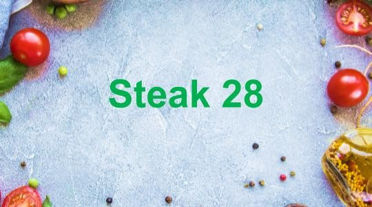 Menu & Review Steak 28 - Dermaga