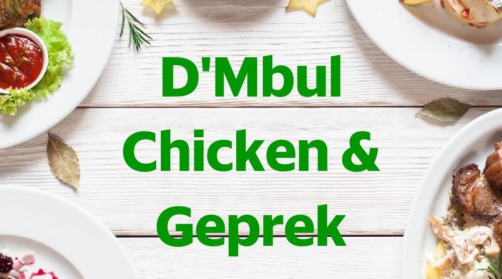 Menu & Review D'Mbul Chicken & Geprek - Cijantung