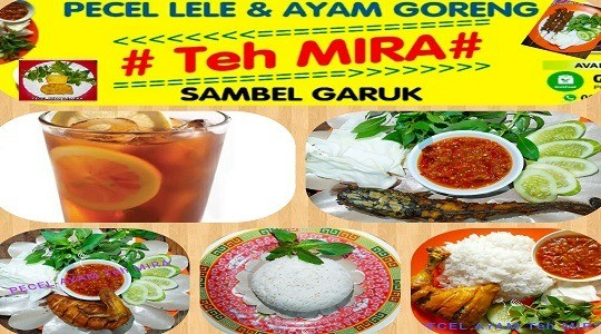 Menu & Review Pecel Ayam Teh Mira - Rawa Terate - Cakung