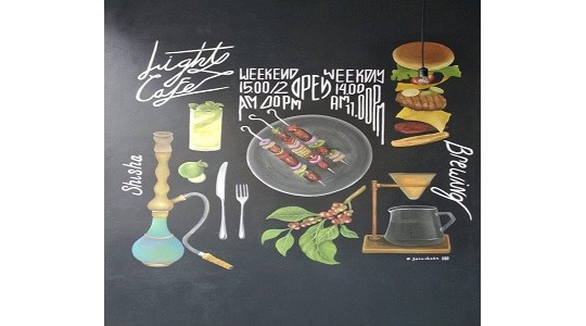 Menu & Review Light Cafe - Rawabadak Utara