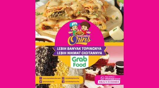 Menu & Review Martabak Pizza Orins - Pondok Gede