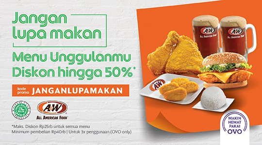 Menu & Review A&W - Cilegon Supermall GF - Cilegon