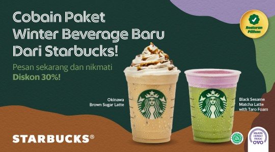 Menu & Review Starbucks - Green Pramuka Mall - JKT.C-CEMPAKA PUTIH