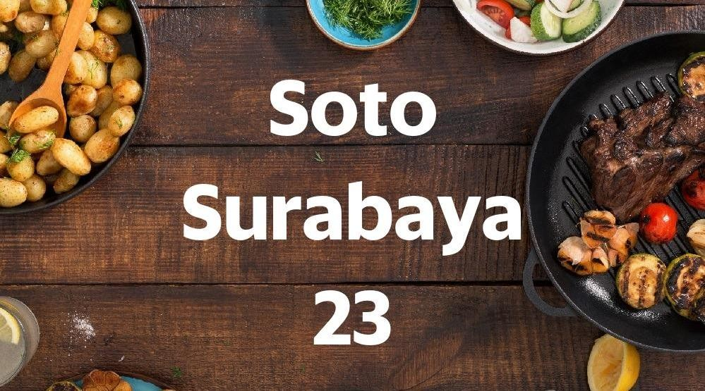 Menu & Review Soto Surabaya 23 - Sukapura