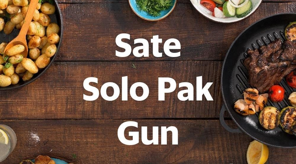 Menu & Review Sate Solo Pak Gun - Menteng