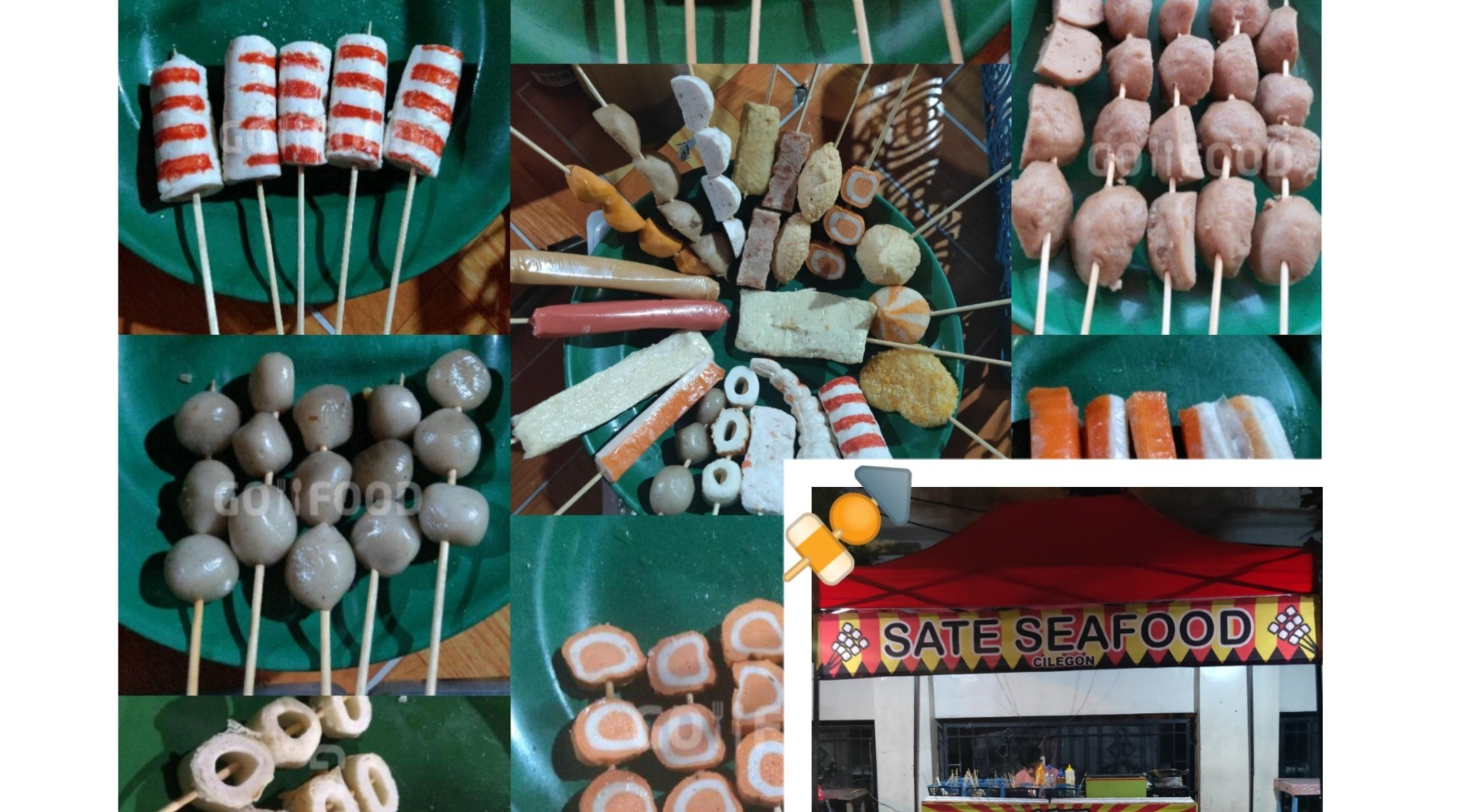 Menu & Review Sate Seafood - Jombang Wetan - Cilegon