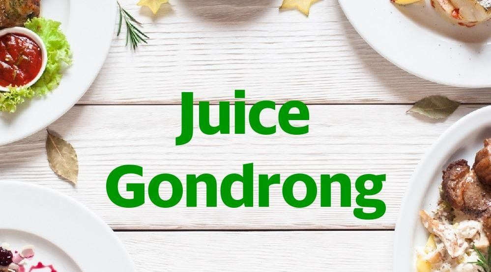Menu & Review Juice Gondrong - Bendungan Hilir