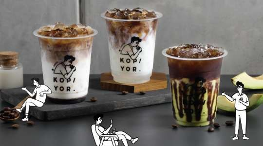 Menu & Review Kopi Yor - Grand Galaxy City - Bekasi II