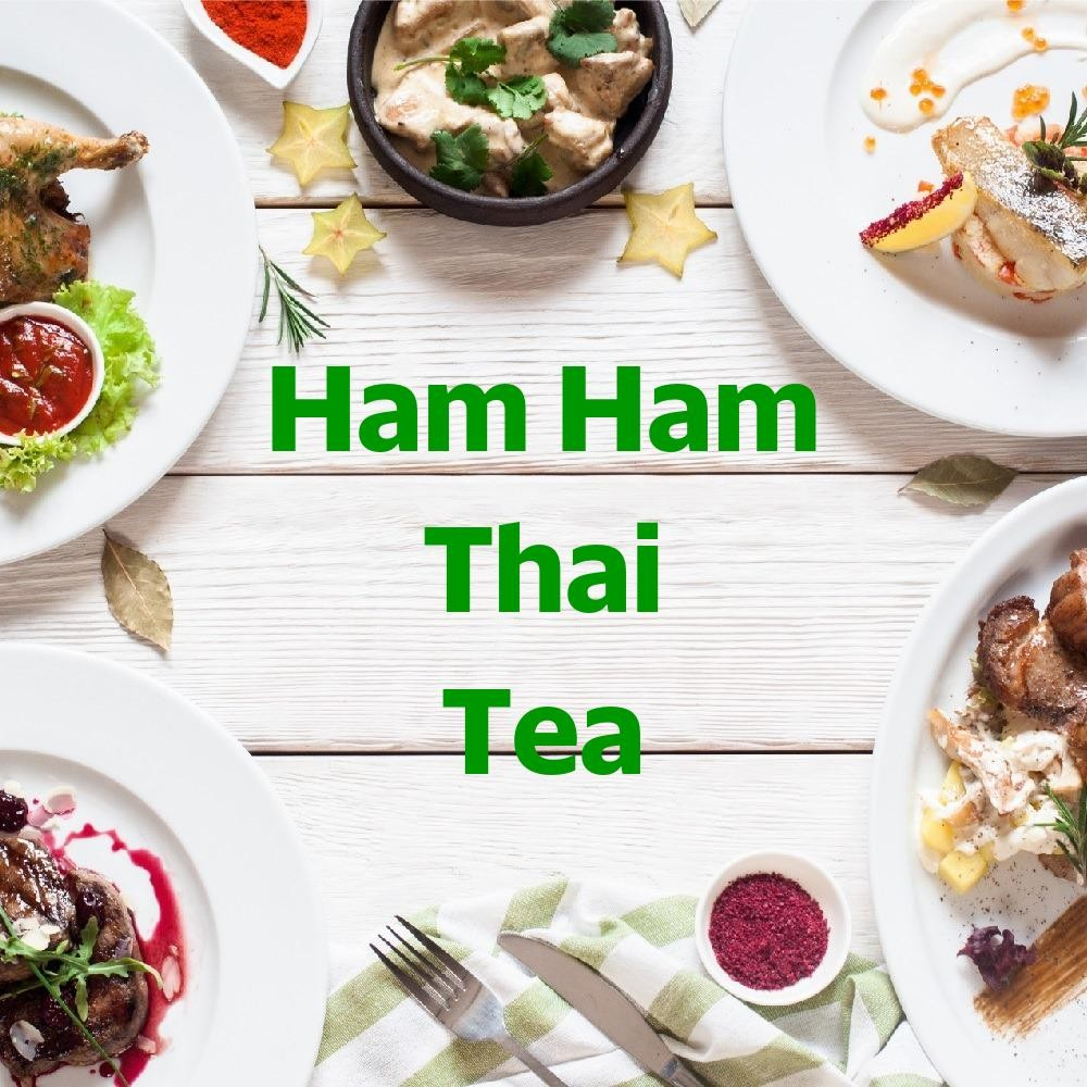 Menu & Review Ham Ham Thai Tea - Utan Kayu Selatan