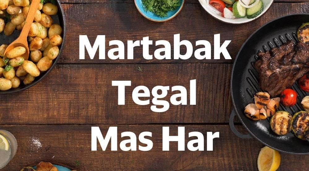 Menu & Review Martabak Tegal Mas Har - Setu