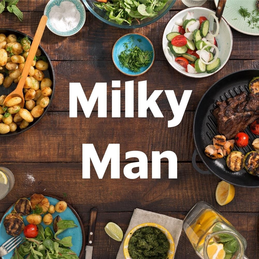 Menu & Review Milky Man - Batong Raya