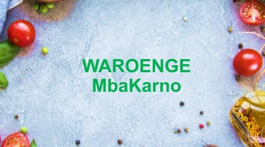 Menu & Review WAROENGE MbaKarno - Belakang Steam Hasan