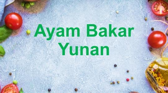 Menu & Review Ayam Bakar Yunan - Rorotan