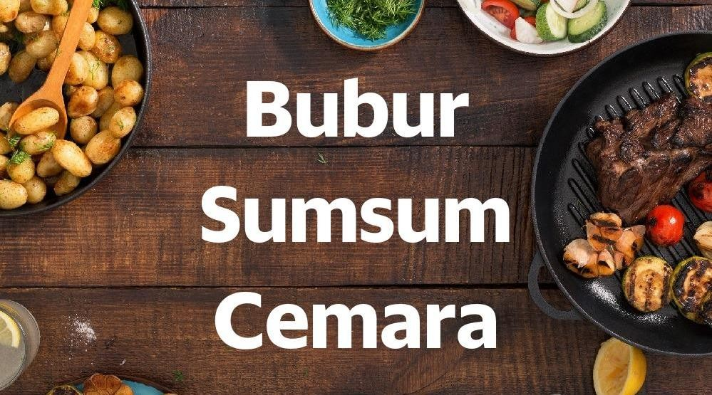 Menu & Review Bubur Sumsum Cemara - Koja
