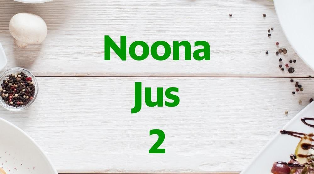 Menu & Review Noona Jus 2 - Kukusan - Beji
