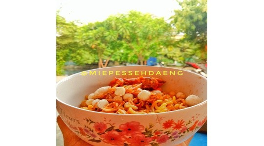 Menu & Review Mie Pesseh - Kalibaru