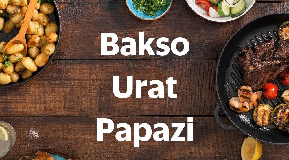 Menu & Review Bakso Urat Papazi - Pademangan Timur