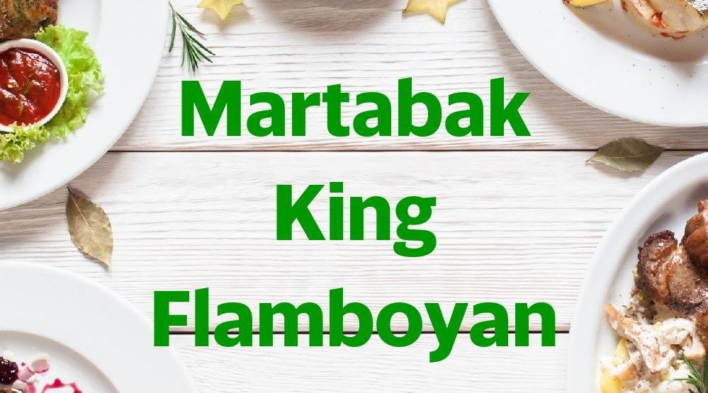 Menu & Review Martabak King Flamboyan - Depan Tri jaya Ban