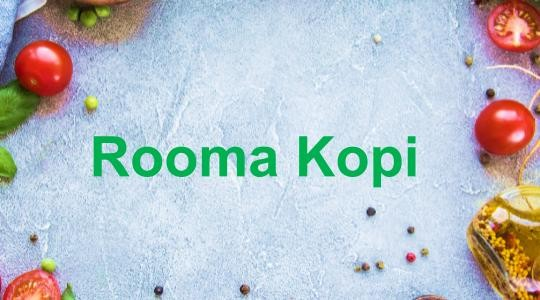 Menu & Review Rooma Kopi - Lilly Residence - Ciputat