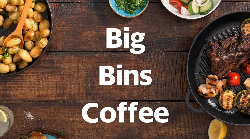 Menu & Review Big Bins Coffee - Serua - Ciputat