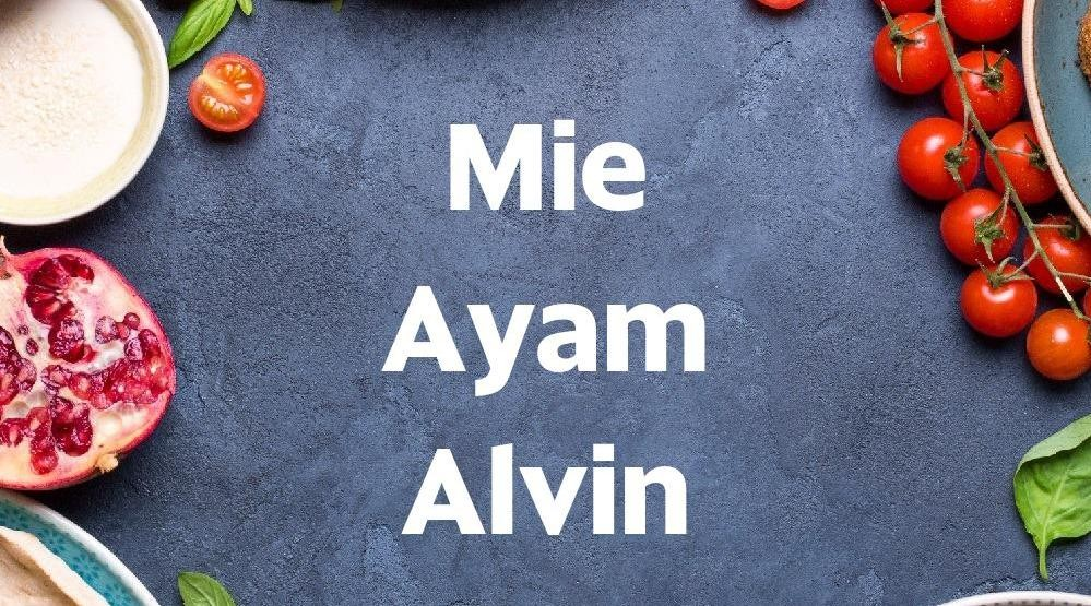 Menu & Review Mie Ayam Alvin -  Curug Kulon - Curug