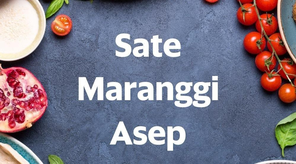 Menu & Review Sate Maranggi Asep - Taiman