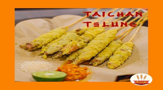 Menu & Review Sate Taichan Bang Tetew - Sunter Agung