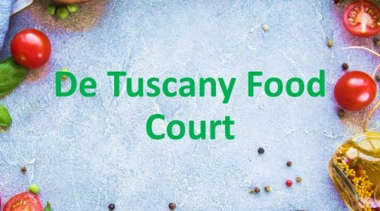 Menu & Review De Tuscany Food Court - Sunter