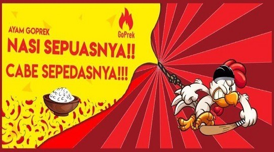 Menu & Review Ayam Geprek Goprek - Dukuh