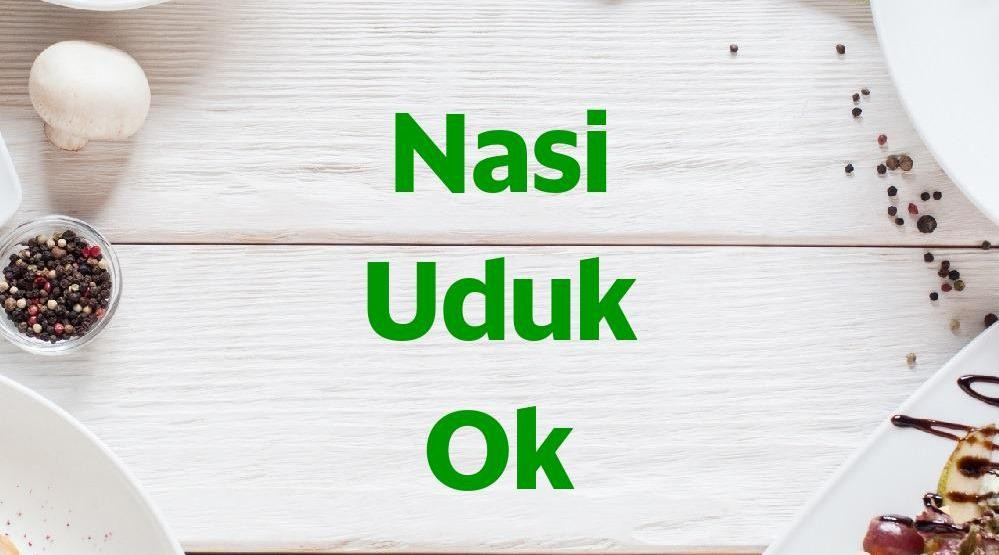 Menu & Review Nasi Uduk Ok - Jati